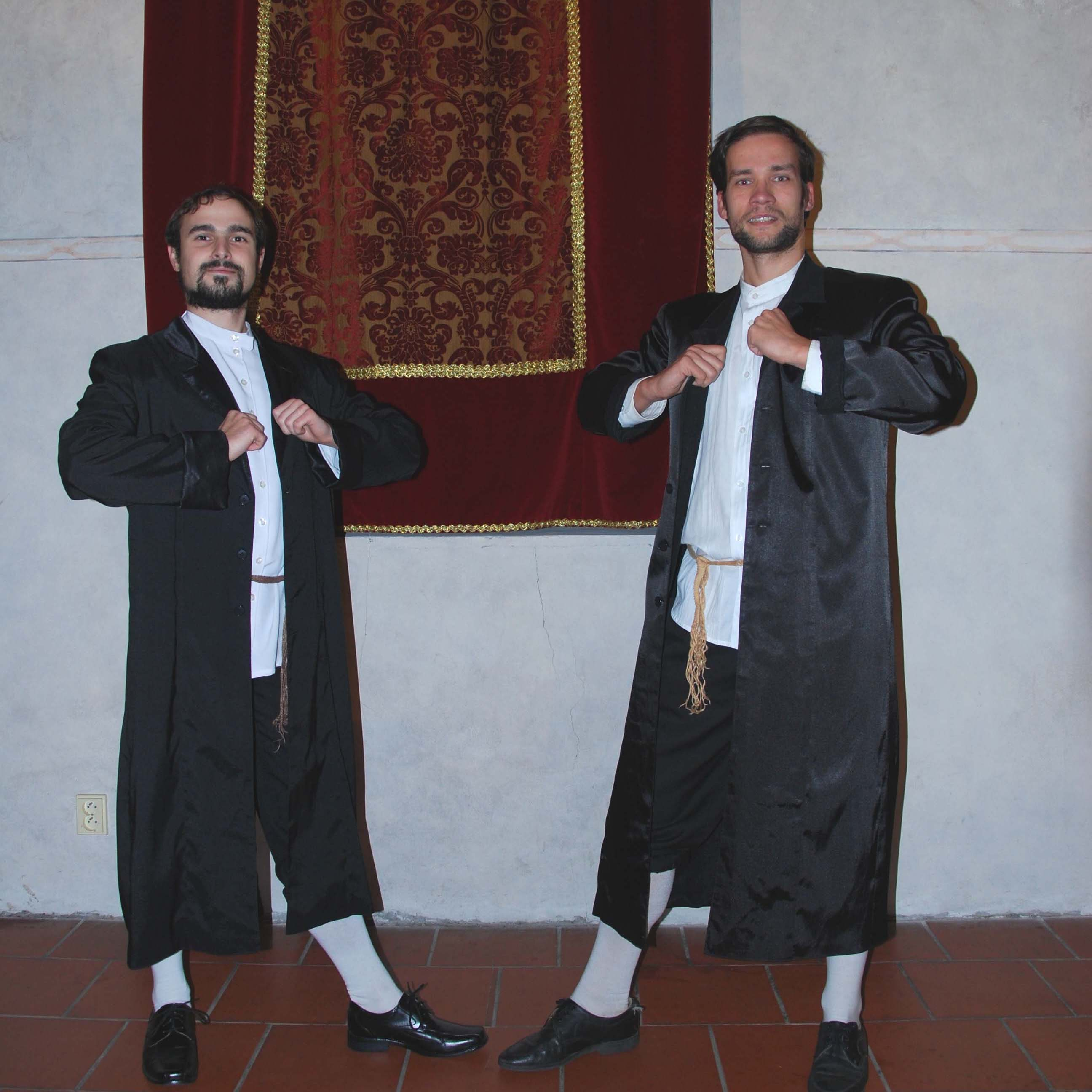 Traditional Jewish dancing