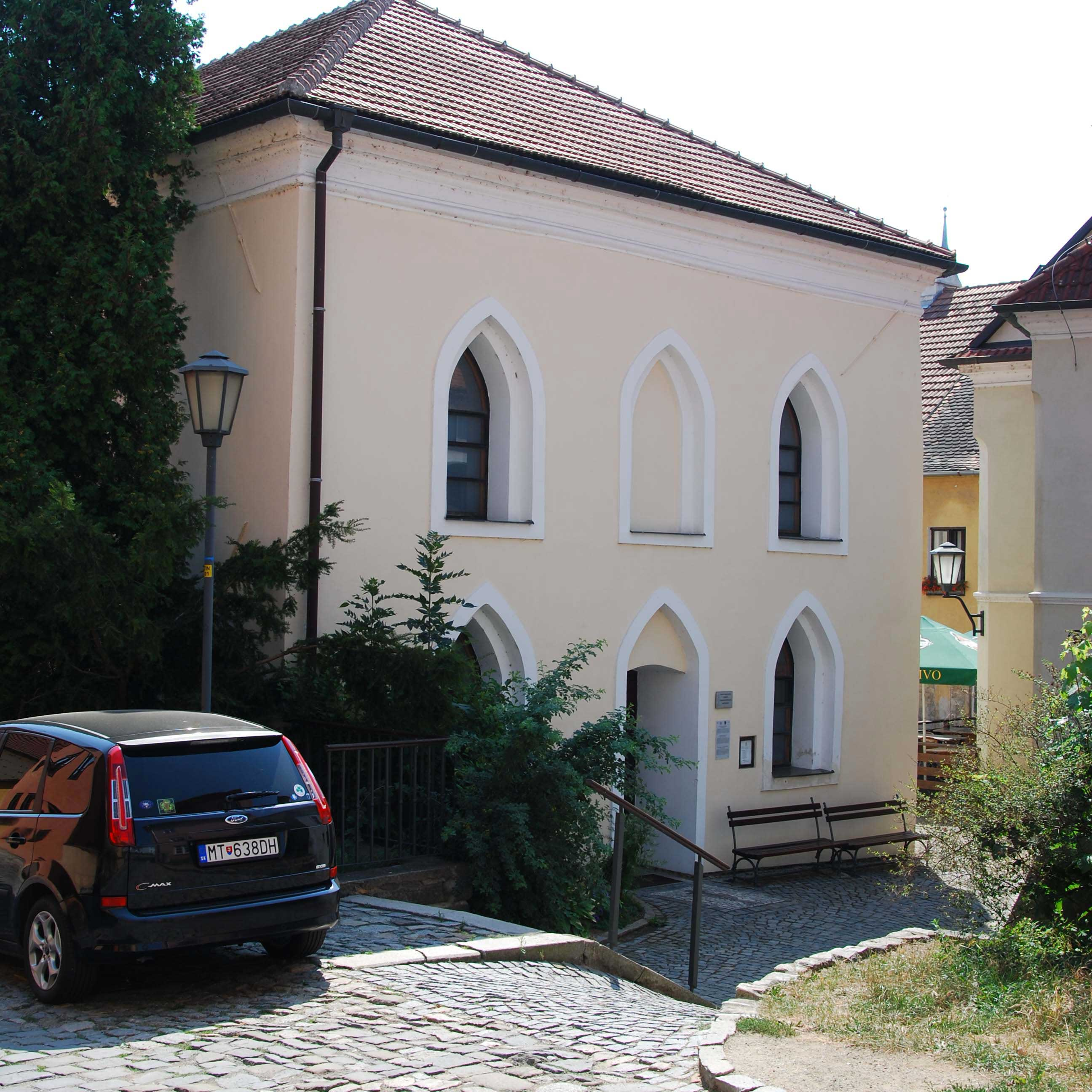 Synagogue, Museum of Judaism and  house of Selingmann Bauer